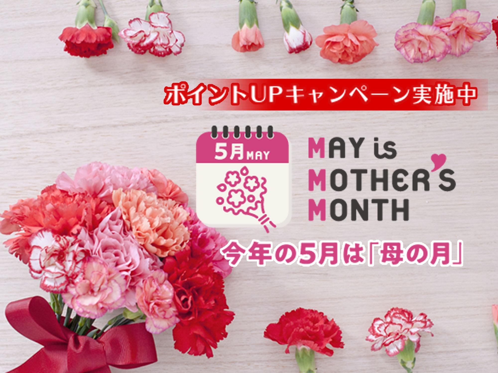 天満屋岡山本店母の日大好評開催中!